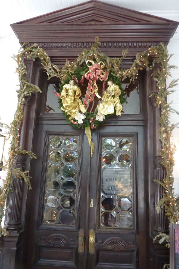 045 columns entrance
